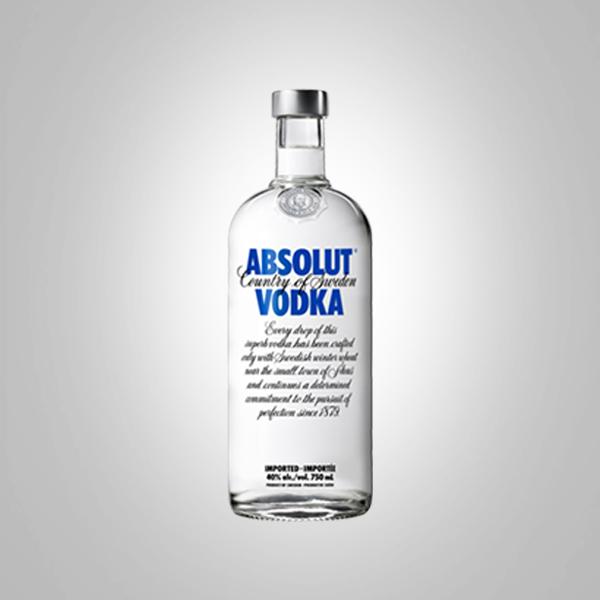 ABSOLUT VODKA 80 750ML BOTTLE - Famous Liquors