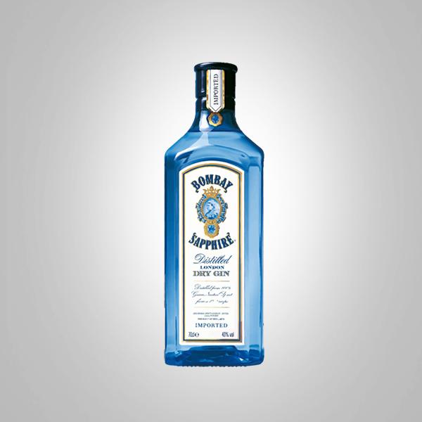 bombay sapphire dry gin bottle famous liquors. Black Bedroom Furniture Sets. Home Design Ideas