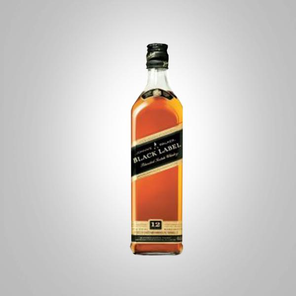 JOHNNIE WALKER BLACK LABEL 750ML BOTTLE