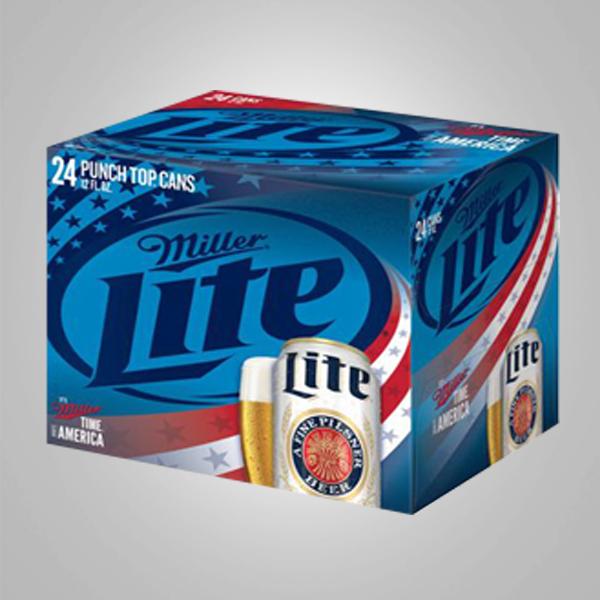 Miller Beer Cans